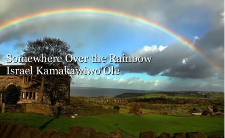 Screenshot Somewhere Over the Rainbow by Israel Kamakawiwo'Ole