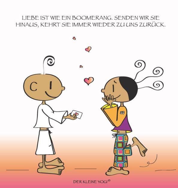 Liebe ist wie ein Boomerang... sie kommt immer wieder zu uns zurück